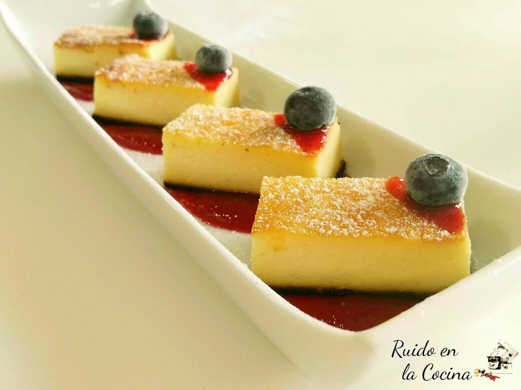 Tarta de queso «As Pontes»