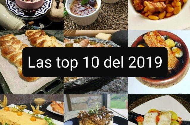 Las recetas más vistas del 2019