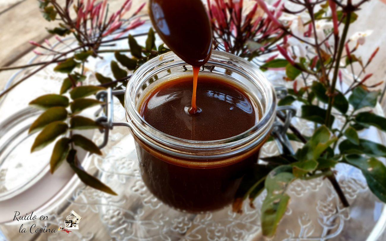 Salsa de toffee o caramelo