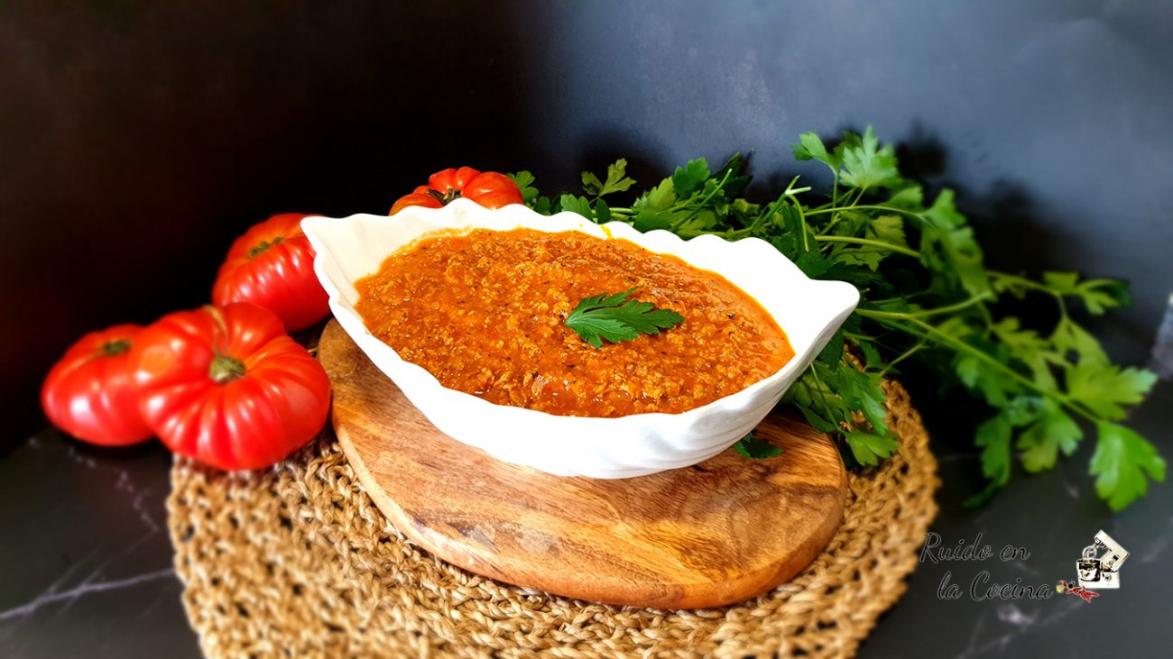 Salsa boloñesa o ragú alla bolognese