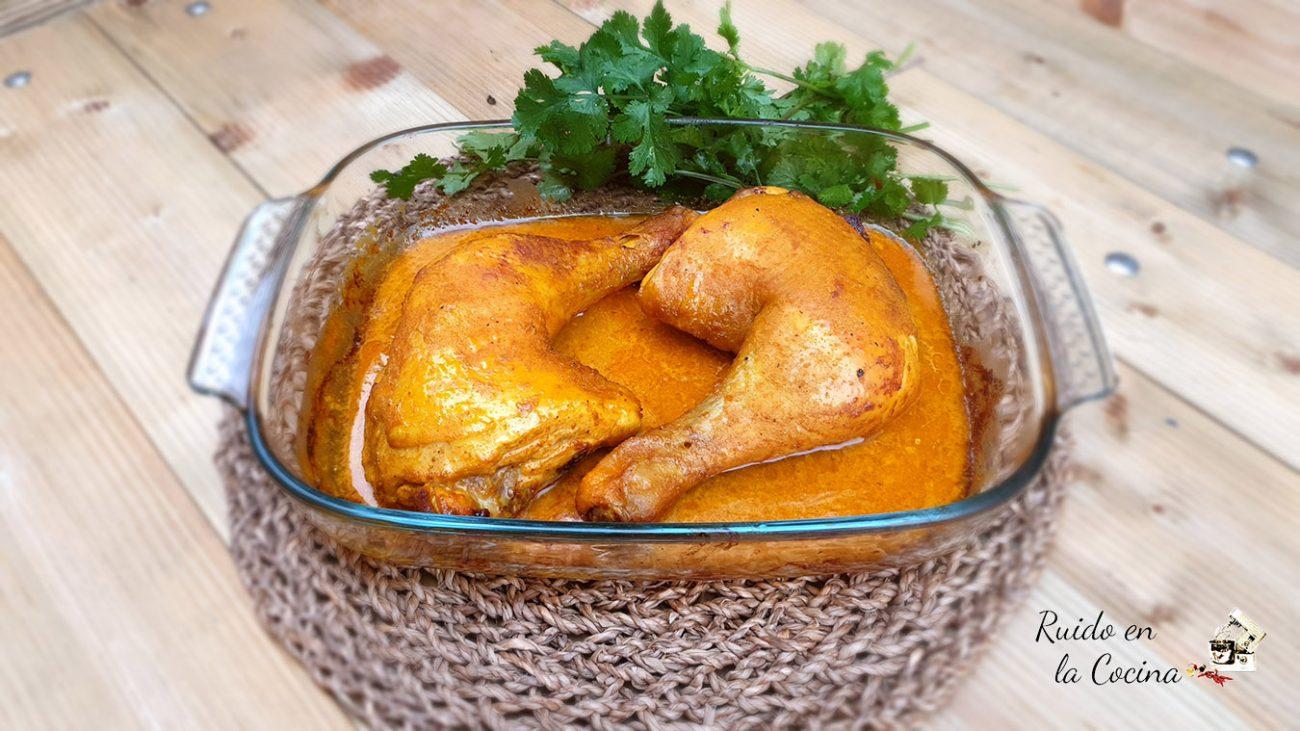 Muslos de pollo al Ras el Hanout