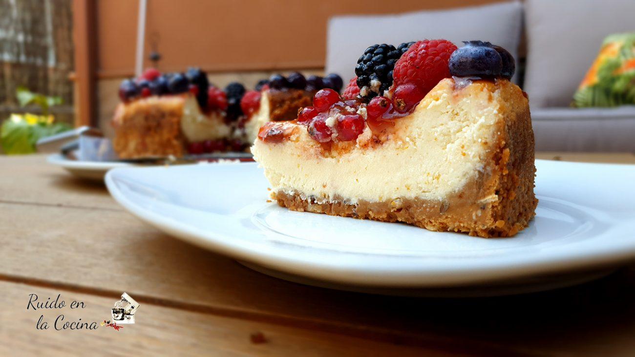 New York Cheesecake con frutos del bosque