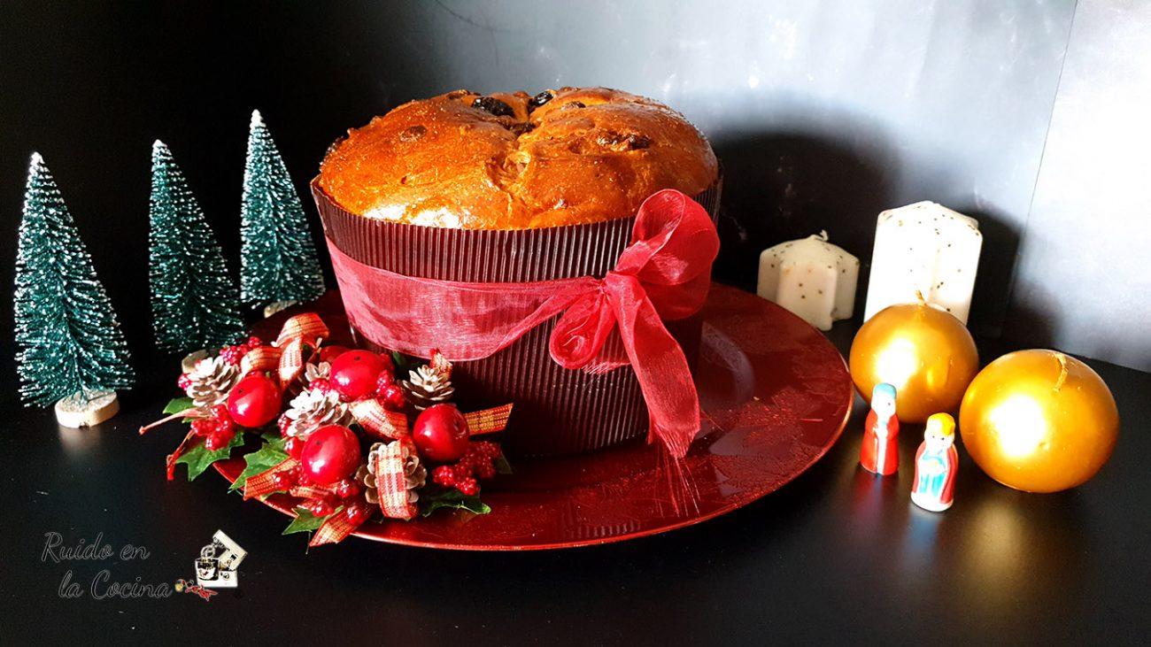 Panettone tradicional, Navidad