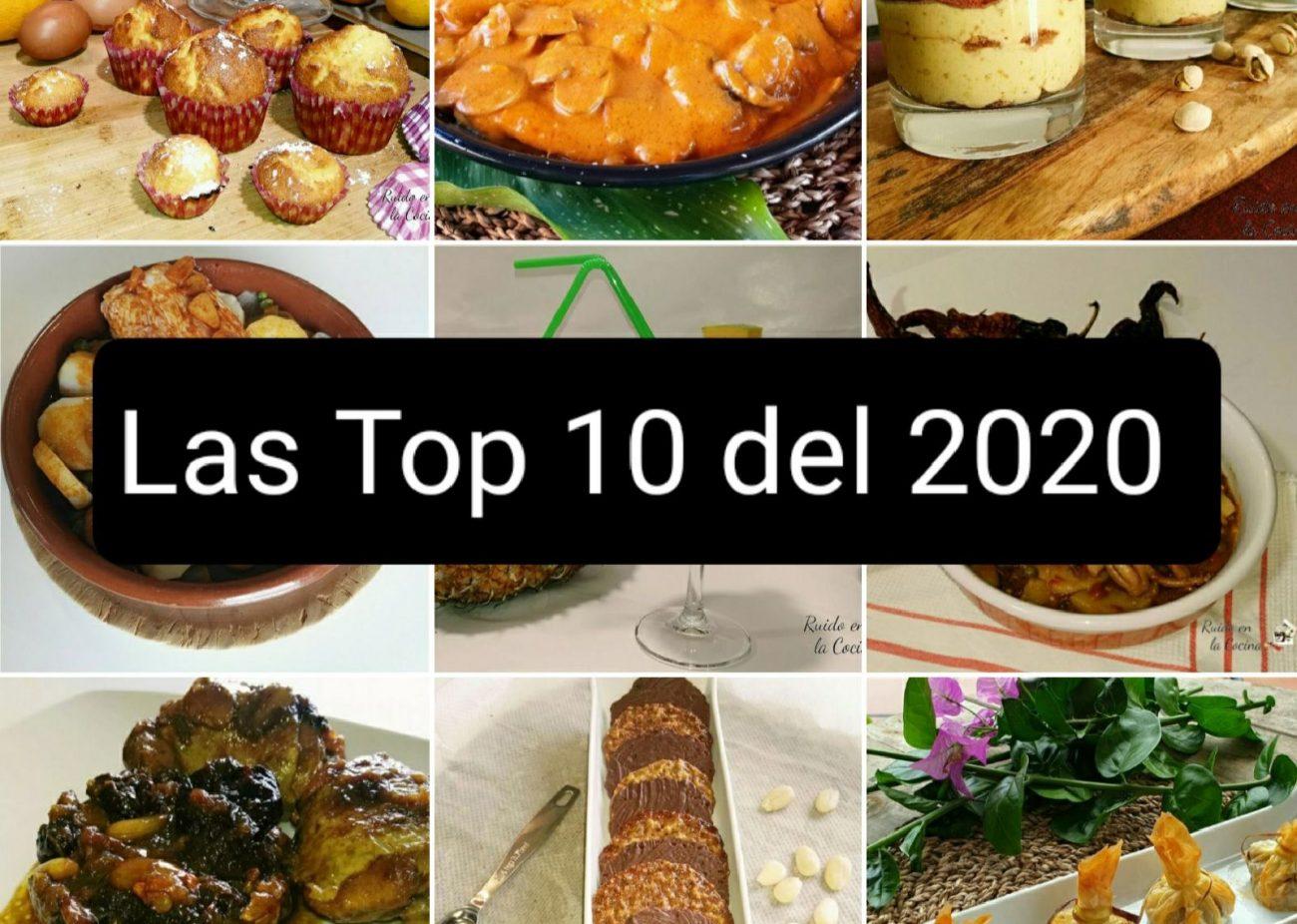 Las 10 recetas más vistas en 2020